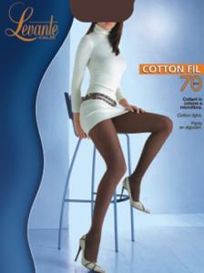 Колготки Cotton Fil 70 ― Интернет магазин модного белья - MissAngel.ru. Женское нижнее белье, колготки, чулки, купальники, домашняя одежда.