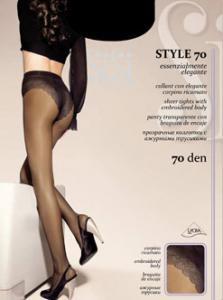Колготки Style 70 ― Интернет магазин модного белья - MissAngel.ru. Женское нижнее белье, колготки, чулки, купальники, домашняя одежда.